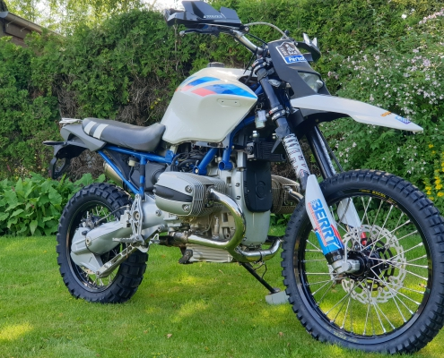Conversion kit BMW R 1150 offroad - WP suspension