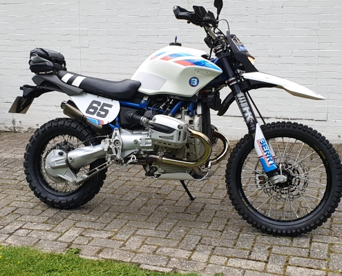 Conversion kit BMW R 1150 offroad rally bike