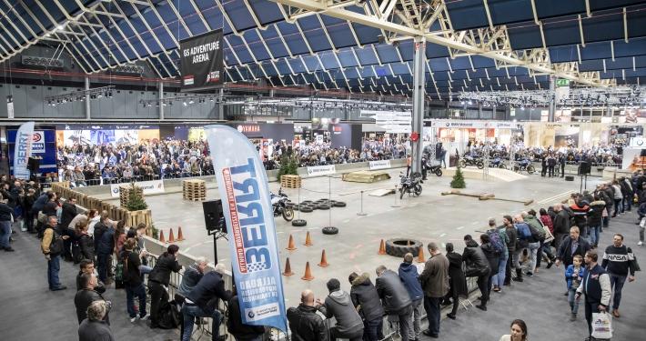 Indoor BMW GS Trophy Motorbeurs Utrecht 2020 met BERRT