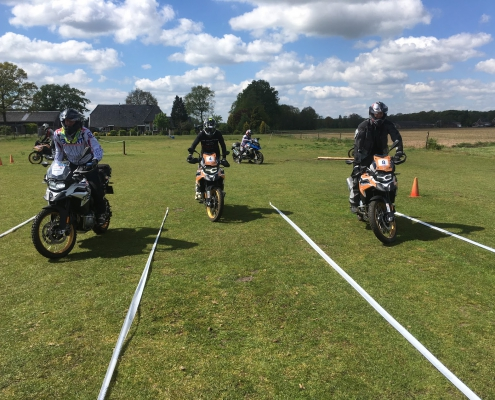 Allroad BMW GS Trophy training slow riding