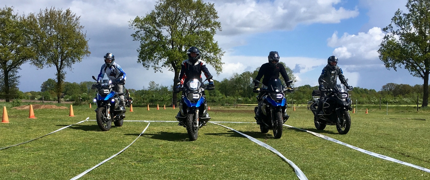 Allroad BMW GS Trophy training slow riding evenwicht