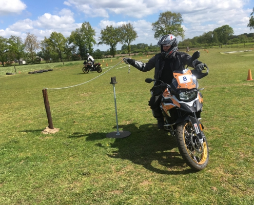Allroad BMW GS Trophy training touw
