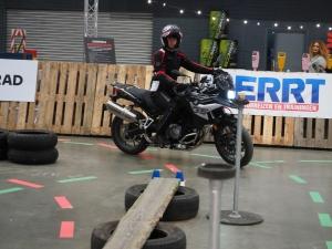 BMW Motorrad Indoor GS DiscoveRide op Motorbeurs Utrecht 2020 door BERRT