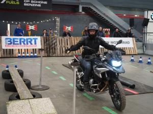 BMW Motorrad Indoor GS DiscoveRide op Motorbeurs Utrecht 2020 met BERRT