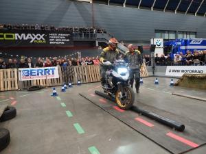 BMW Motorrad Indoor GS Trophy op Motorbeurs Utrecht 2020 door BERRT