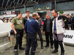 BMW Motorrad Indoor GS Trophy op Motorbeurs Utrecht 2020 instructies door BERRT