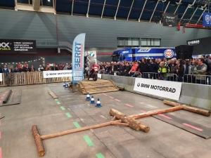 BMW Motorrad Live Arena GS demonstraties op Motorbeurs Utrecht 2020 door BERRT