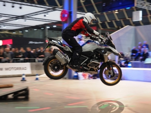 BMW Motorrad Live Arena demonstraties R 1250 GS op Motorbeurs Utrecht 2020 door BERRT