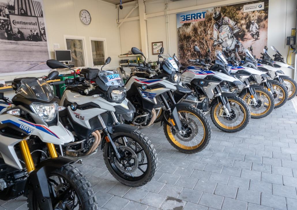 BMW GS huurmotoren voor offroad trainingen en ritten