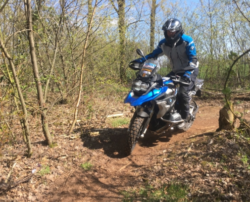 BERRT Allroad motortraining - single tracks offroad voor beginners