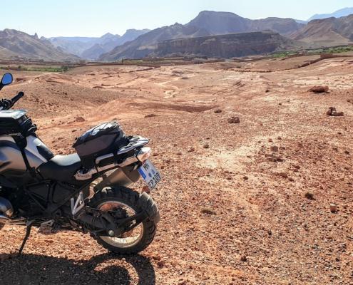 Adembenemende uitzichten - allroad motorreis Marokko Atlas met BMW R 1250 GS huurmotor met BERRT