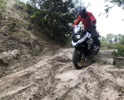 Adventure Trial training intensieve offroad motortraining bij BERRT