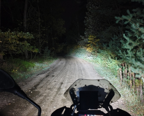 BERRT Furstenau Nachtrit 2019 - legaal offroad rijden in het donker
