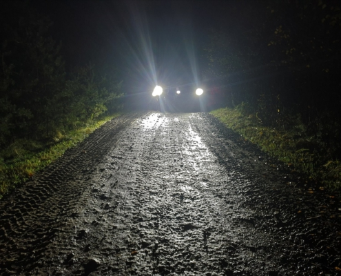 BERRT Furstenau Nachtrit 2019 - offroad rijden in het donker