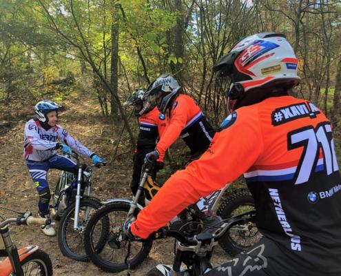 GS Adventure Trial training bij BERRT met Peter van der Sluis