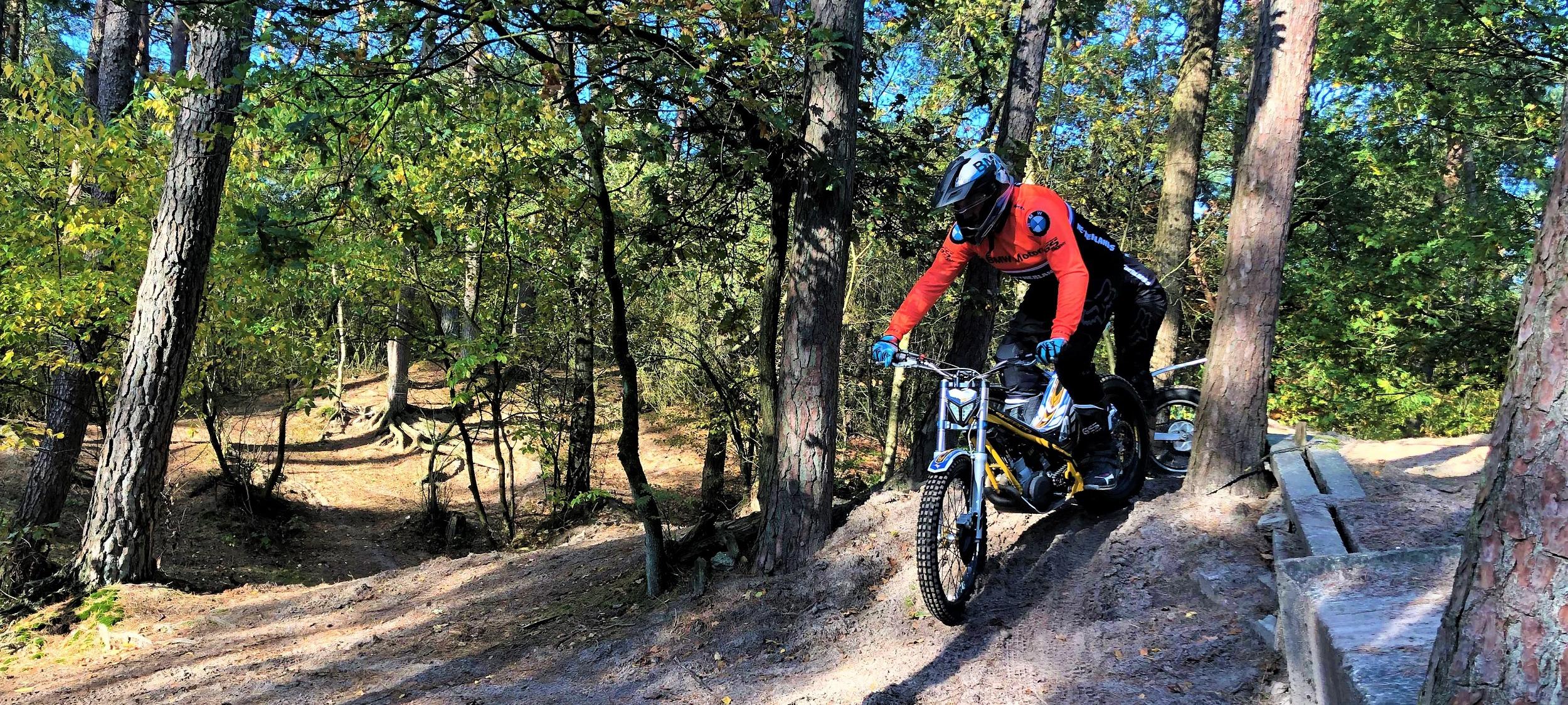 GS Adventure Trial training offroad bij BERRT slider