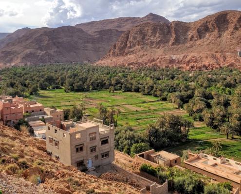 Ongekend mooie natuur - allroad motorreis Marokko Atlas met BMW R 1250 GS huurmotor met BERRT