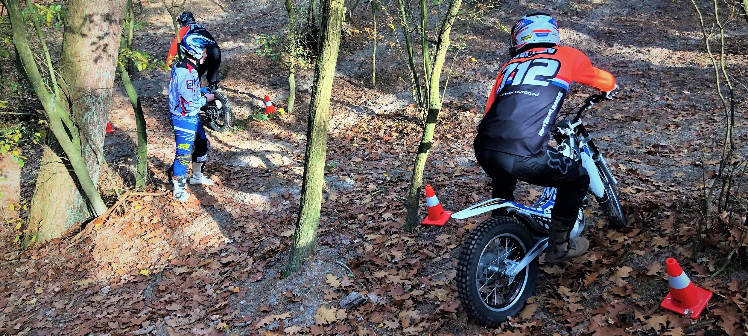 Uitdagend en leerzaam trialrijden als training voor op de allroad motor - BERRT