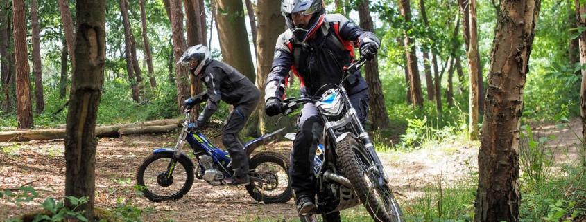 Nieuwe BERRT Adventure Trial Training - Leer beter Allroad motorrijden