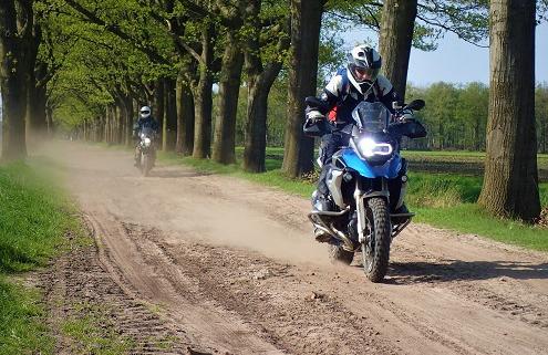 BERRT 3-daagse offroadrit door Nederland voor Allroad motoren