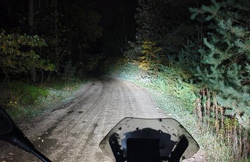 BERRT Furstenau Nachtrit 2020 - Uniek legaal offroad rijden in het donker