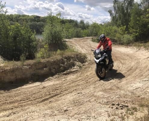 BERRT Enduro rit Zelhem unieke offroad route rijden met een kleine groep allroad rijders