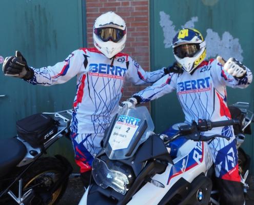 BERRT Enduro rit Zelhem zwaar offroad rijden met een kleine groep gevorderde allroad motorrijders