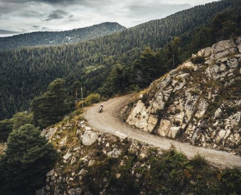 Adembenemend Offroad rijden in de Alps Tourist Trophy Italie met BERRT op de allroad motor