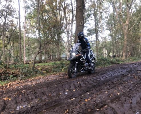 BERRT Driedaagse - Door Nederland offroad motorrijden over uiteenlopende ondergronden