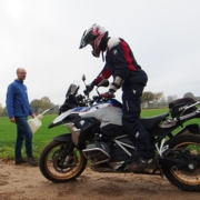 Slow Riding offroad BMW R 1250 GS HP met BERRT