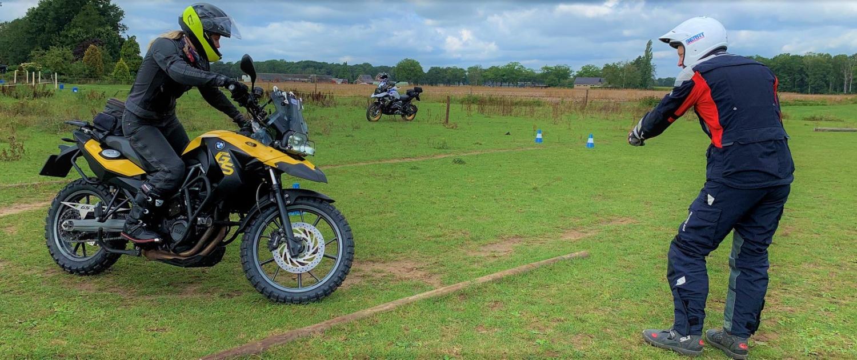 BERRT Basis offroad motorcursus voor meer rijvaardigheid