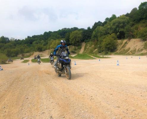 BERRT Hechlingen Intermediate Training geleidelijk offroad leren rijden in BMW Enduro Park