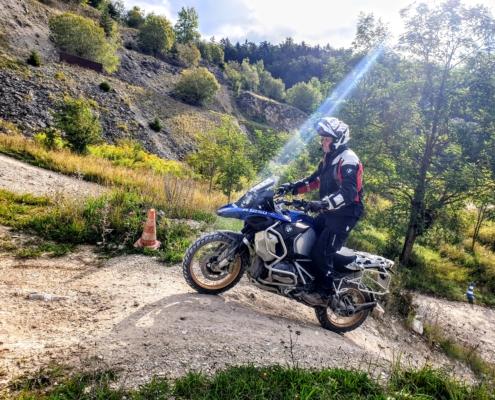 BERRT Hechlingen Intermediate Training offroad geweldig motorrijden in BMW Enduro Park
