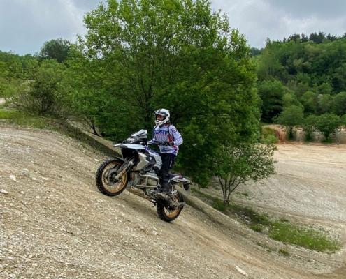 BERRT Hechlingen Intermediate Training offroad hellingen leren rijden in BMW Enduro Park