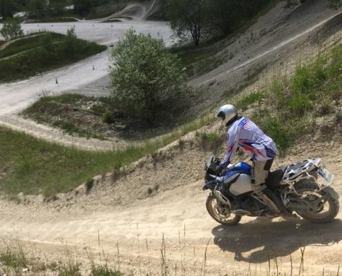 BERRT Hechlingen Intermediate Training offroad leren motorrijden in BMW Enduro Park