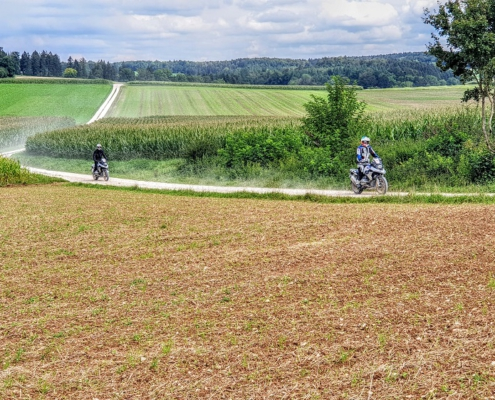 BERRT Hechlingen Intermediate Training offroad motorrijden in prachtige omgeving van BMW Motorrad Enduro Park