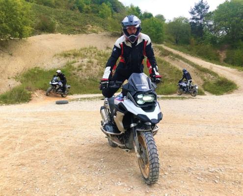 BERRT Hechlingen Intermediate Training offroad oefeningen stapsgewijs in BMW Enduro Park