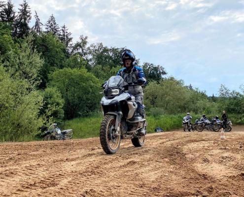 BERRT Hechlingen Intermediate Training offroad zand leren rijden met BMW R1250GS in Enduro Park
