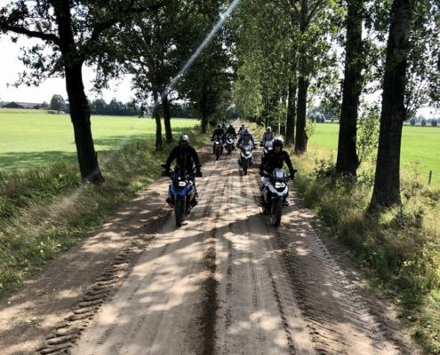 BERRT Twenterit - Offroad rijden met de Allroad motor met gids