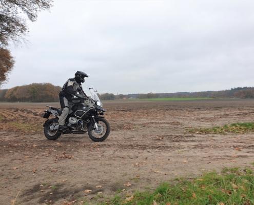 BERRT Twenterit - Offroad rijden op zandpaden met de Allroad motor met gids