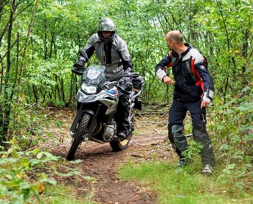 BERRT allroad motor trainingen - BMW Motorrad offroad partner