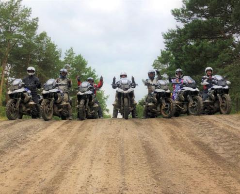 Samen genieten met allroad motorrijders van zand rijden in Fürstenau met BERRT