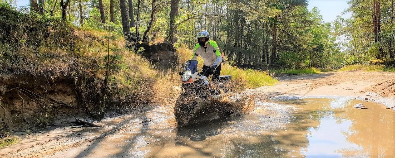 Furstenau Intermediate Training plassen en modder - BERRT offroad voor allroads