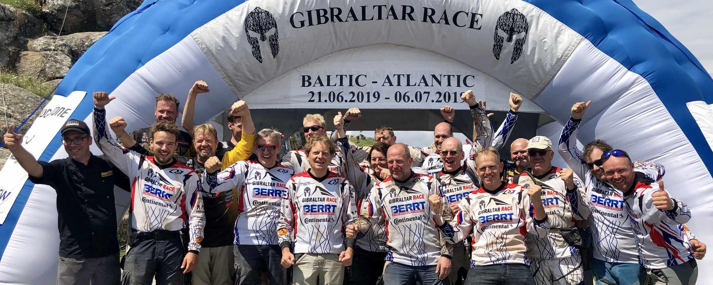 Geweldige prestatie van Team BERRT Gibraltar Race 2019