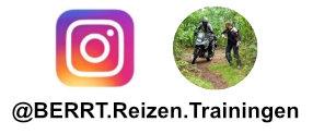 Volg BERRT Reizen en Trainingen op Instagram